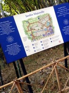 Cartel Jardin Majorelle
